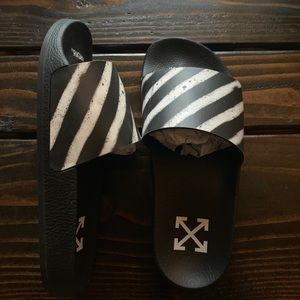 Off-White Shoes - Off-White Pool Slides
